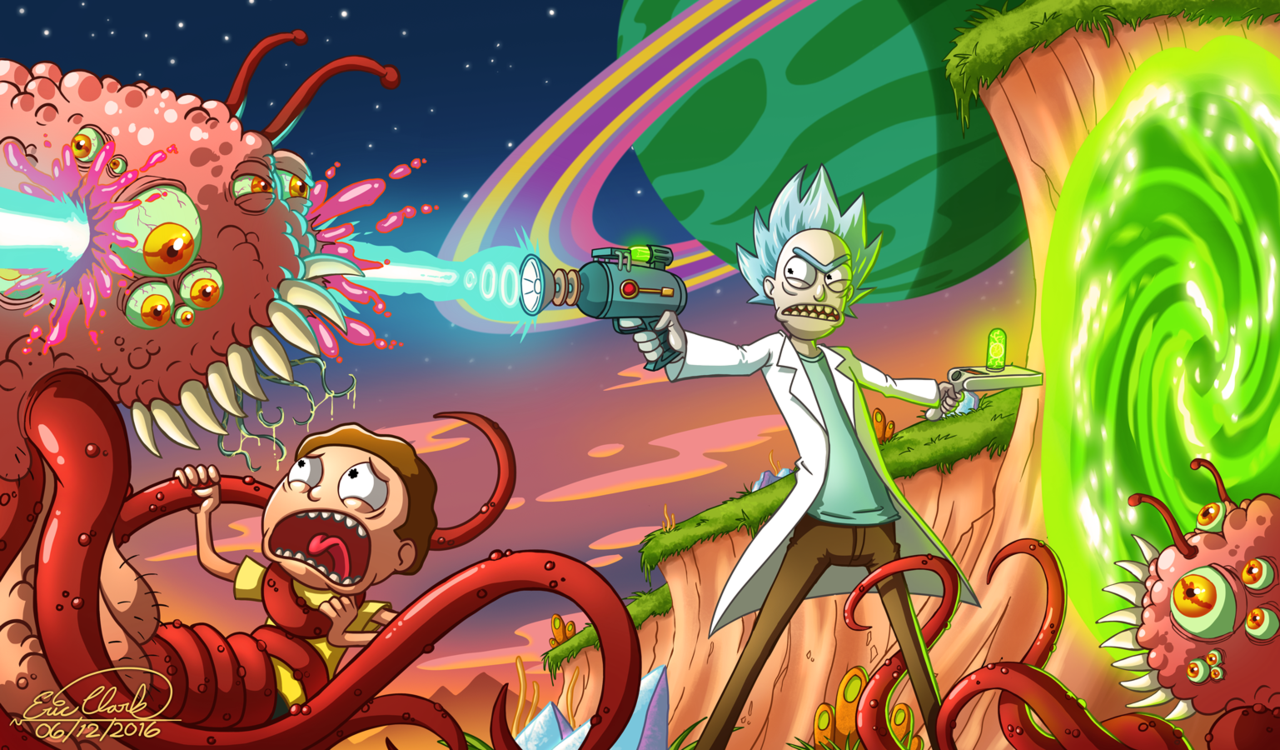 1080p Rick And Morty Wallpaper Posted By Ryan Anderson