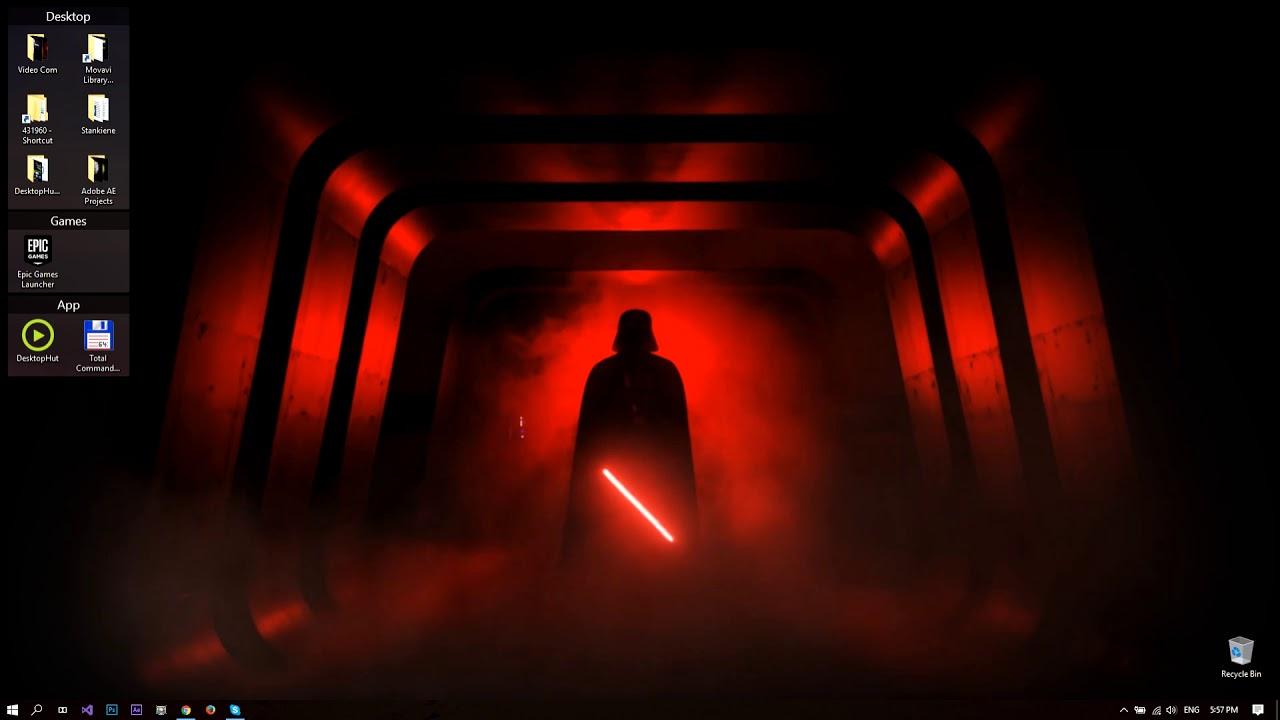 DesktopHut Star Wars Come to the Dark Side Live Wallpaper