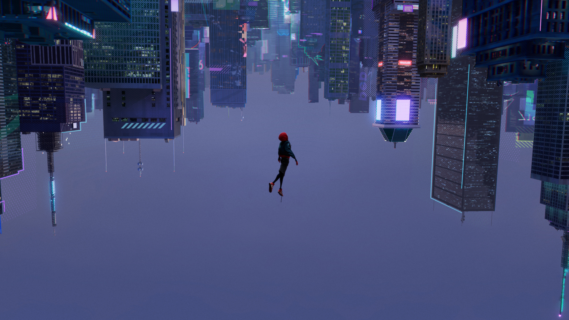 Miles Morales Spider Man Into the Spider Verse 1920x1080