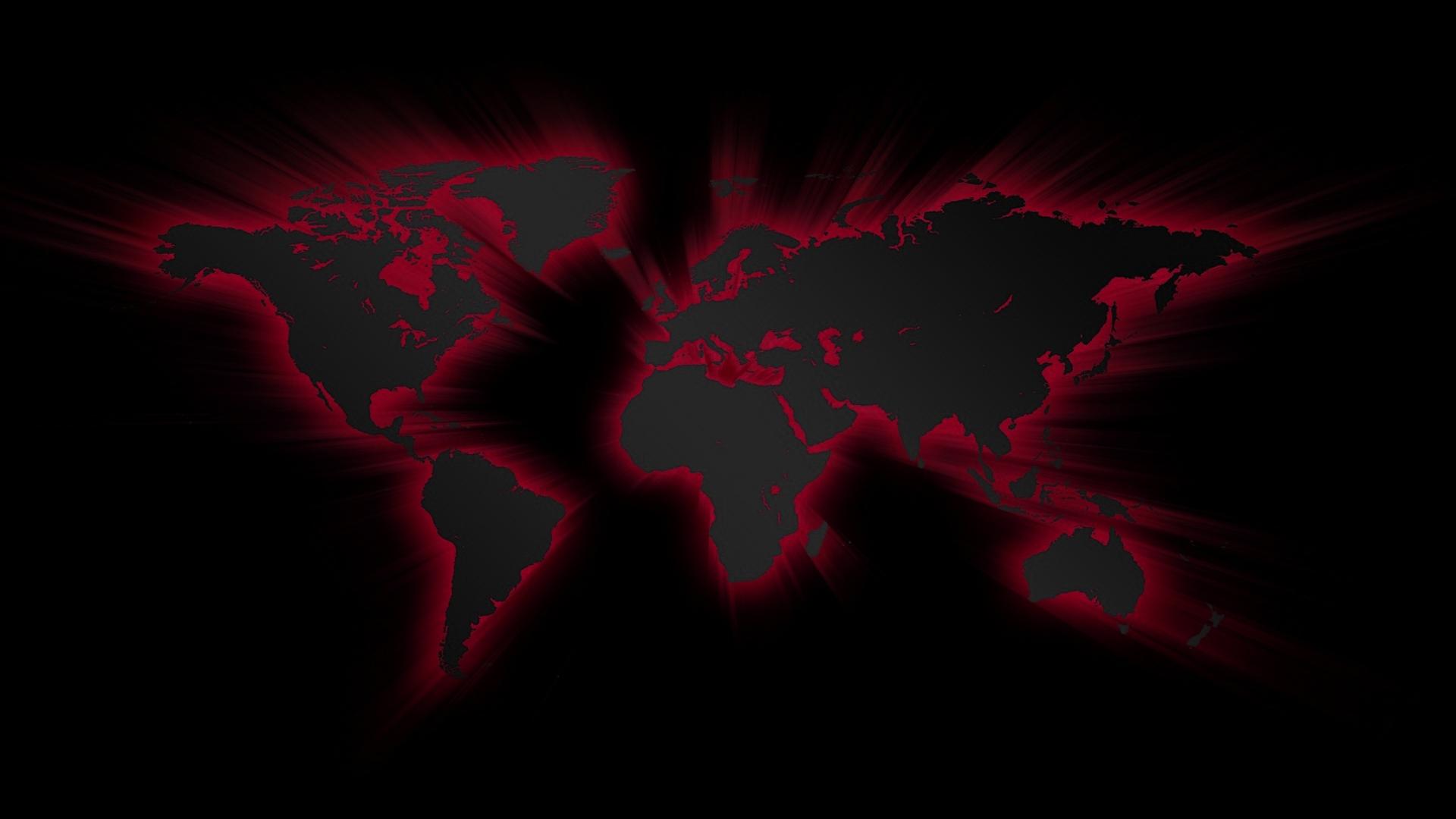1920x1080 Material Design Dark Red Black Laptop Full HD