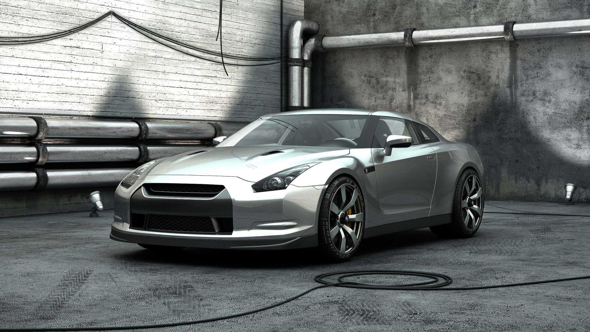 3D Car Silver Color HD Other Cars Wallpapers for Mobile