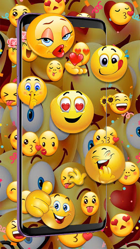 3D Emoji Live Wallpaper HD Background Parallax 1.0 apk