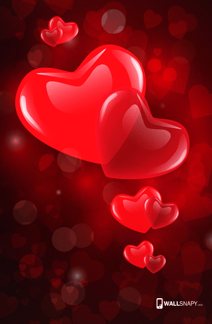 Beautiful 3d heart hd wallpaper Wallsnapy