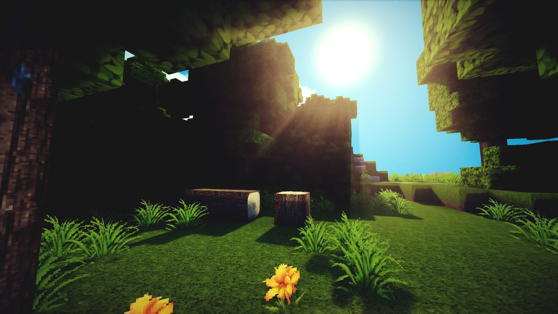 3d Minecraft Wallpapers Posted By Zoey Sellers
