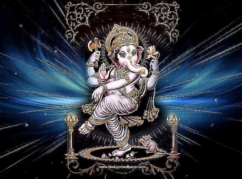 3d God Wallpaper Of Hindu Gods Ganesh 3d Wallpaper Free
