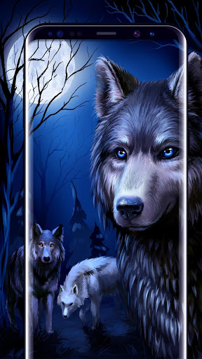 Ice Wolf Live Wallpaper 3D 2.2.0.2501 apk androidappsapk.co