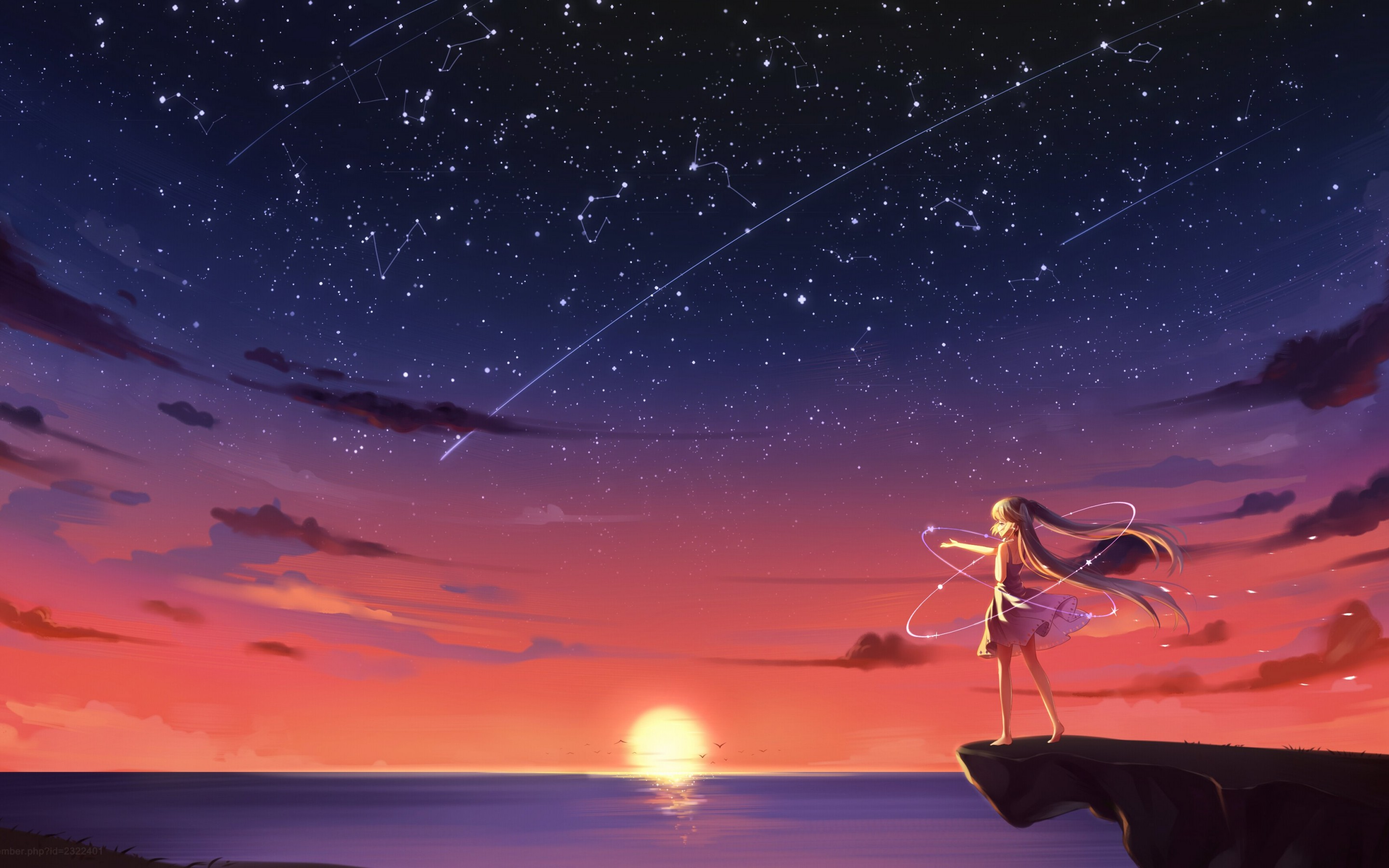 4k Anime Landscape Wallpaper Posted By Zoey Sellers