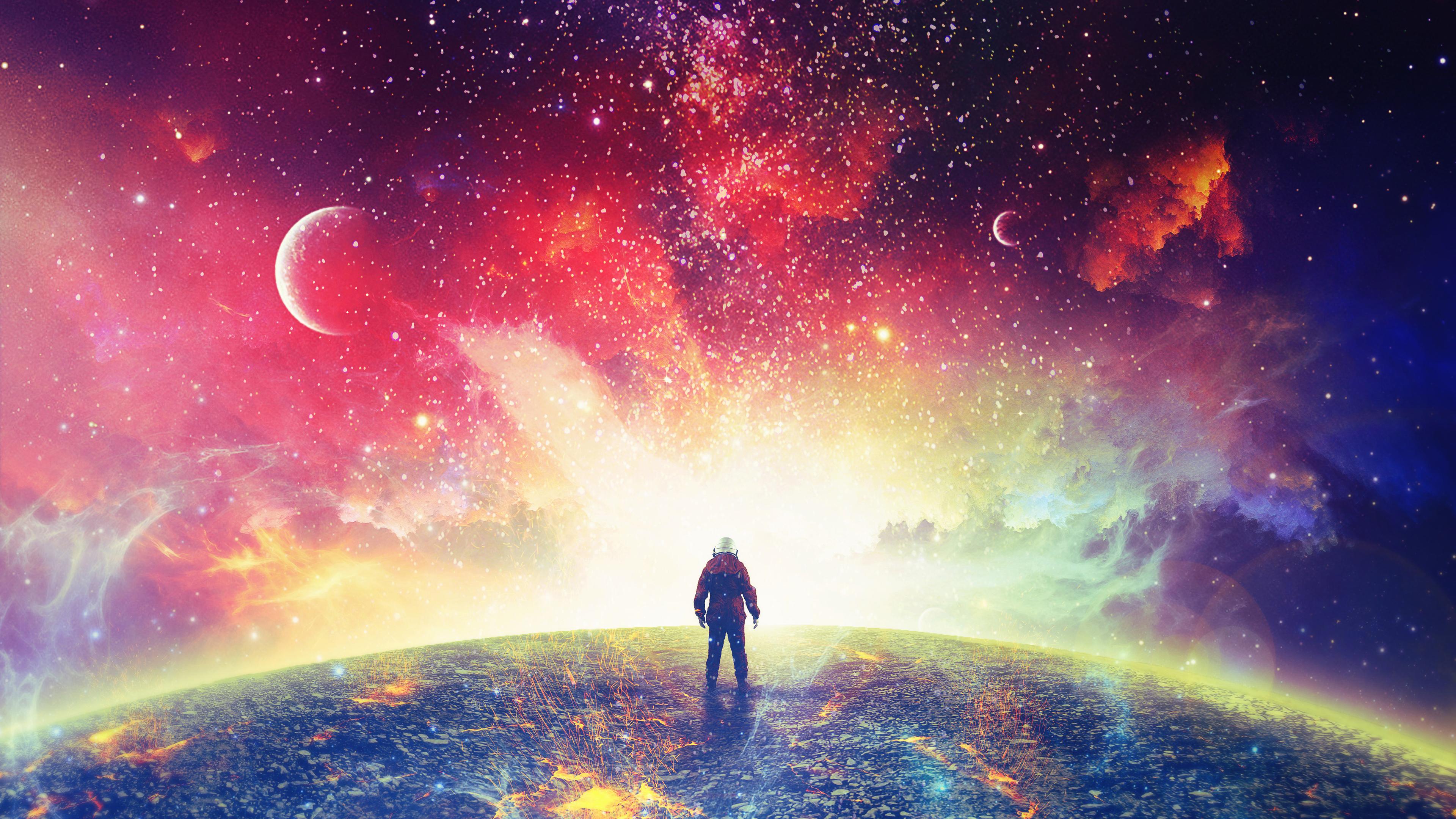 4k Astronaut Wallpaper Posted By Ryan Mercado