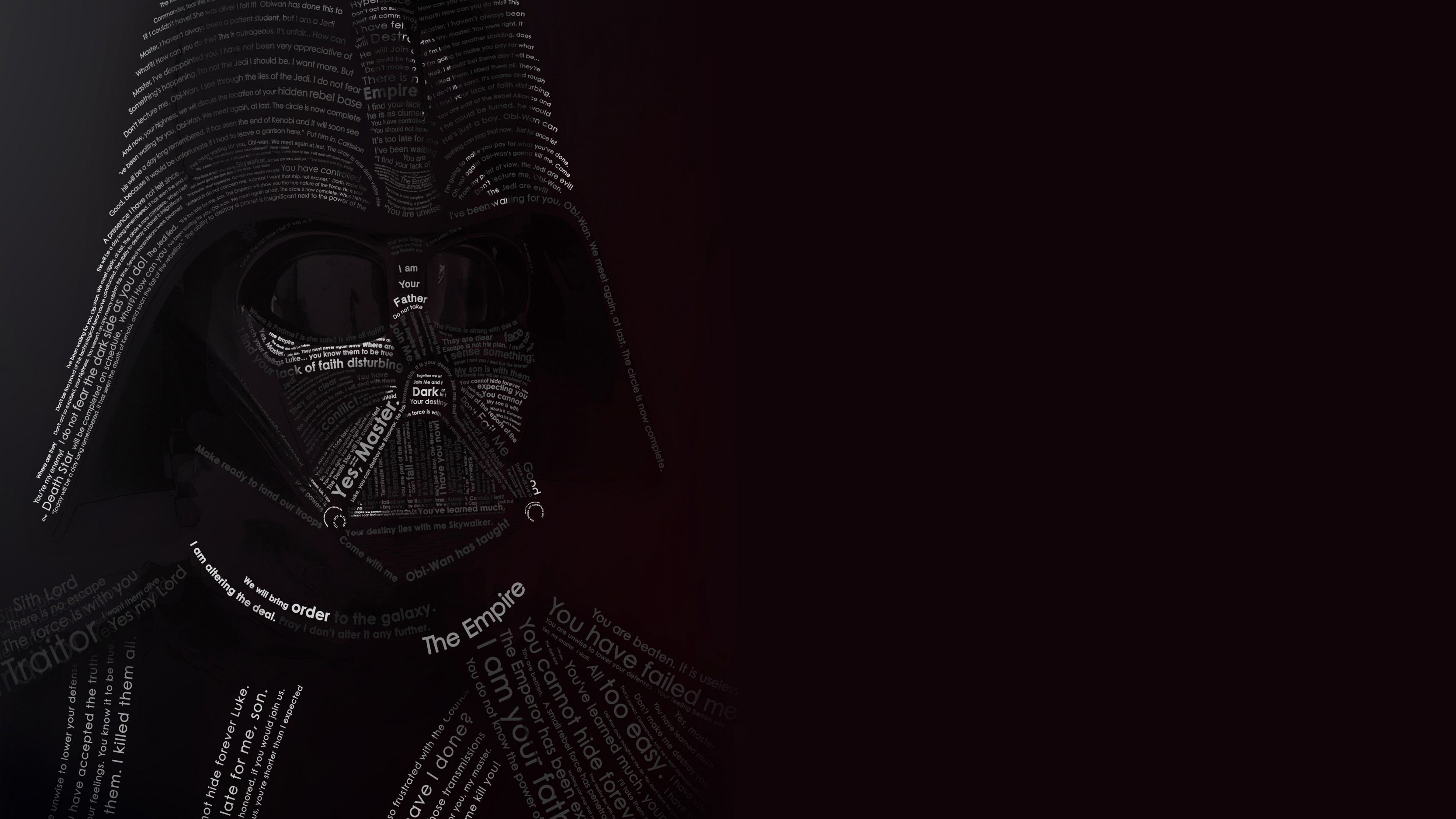 4k Darth Vader Wallpaper Posted By Christopher Thompson