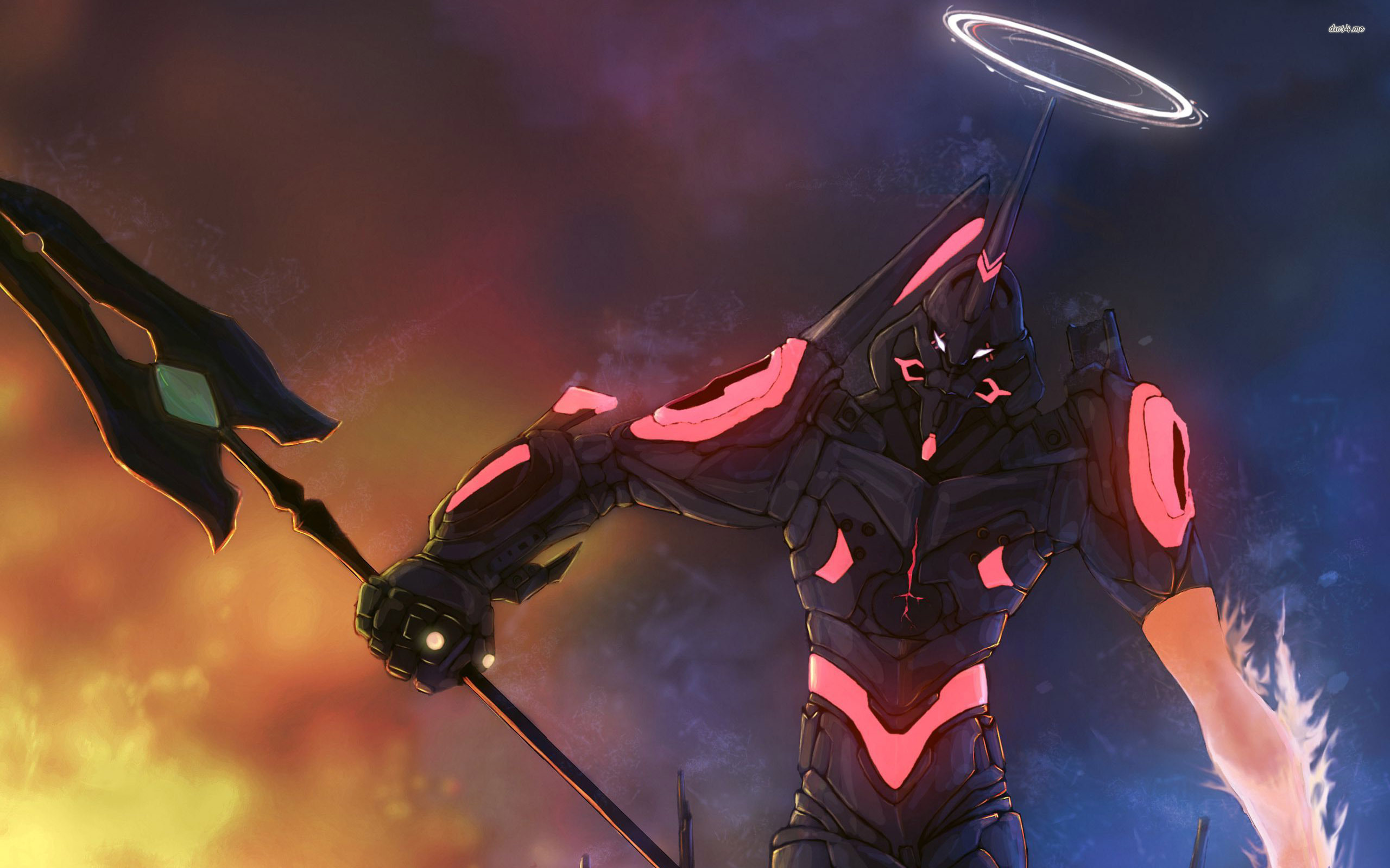 4k Evangelion Wallpaper Posted By Christopher Tremblay