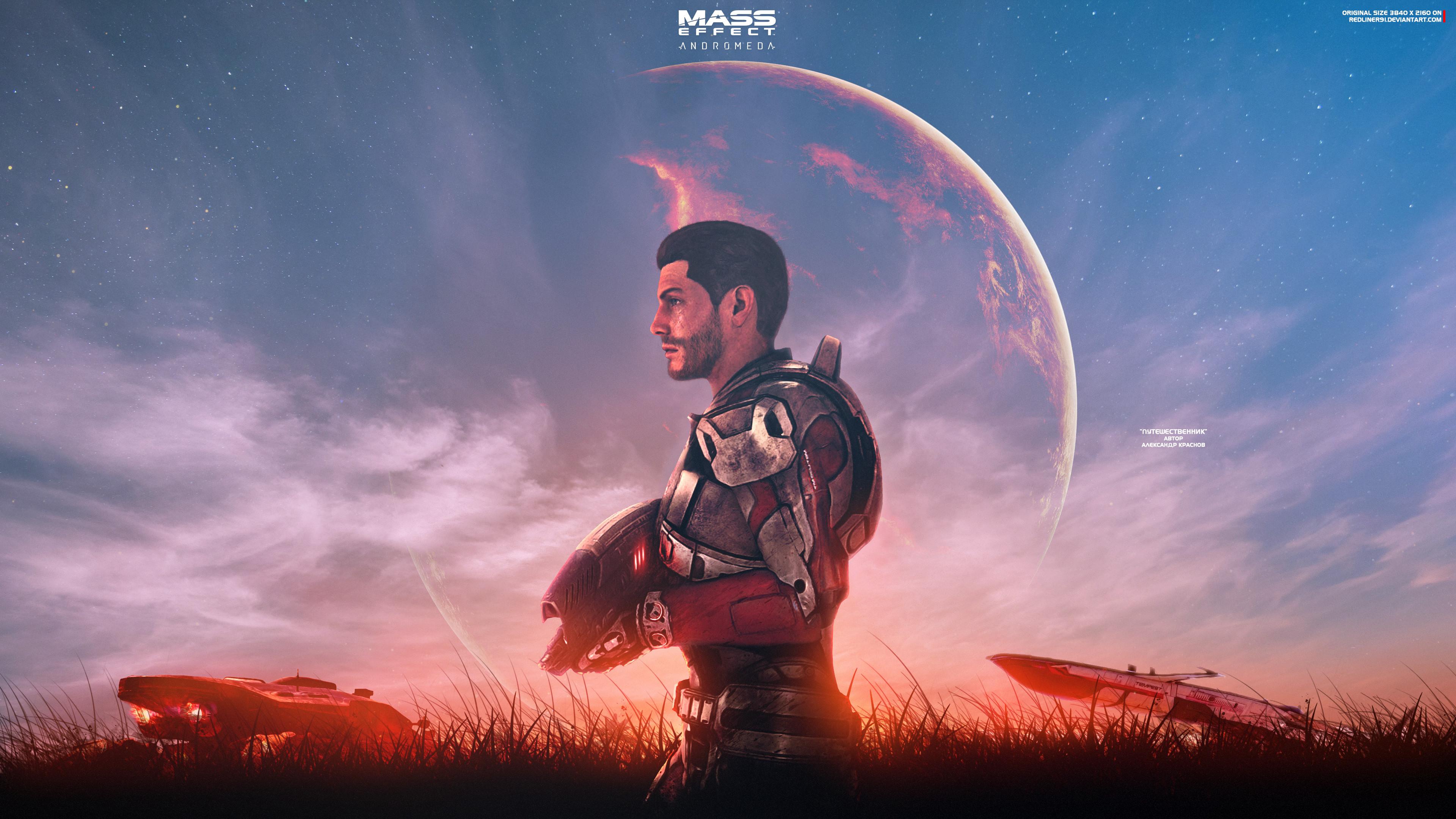 4k Mass Effect Wallpaper Posted By Ryan Mercado