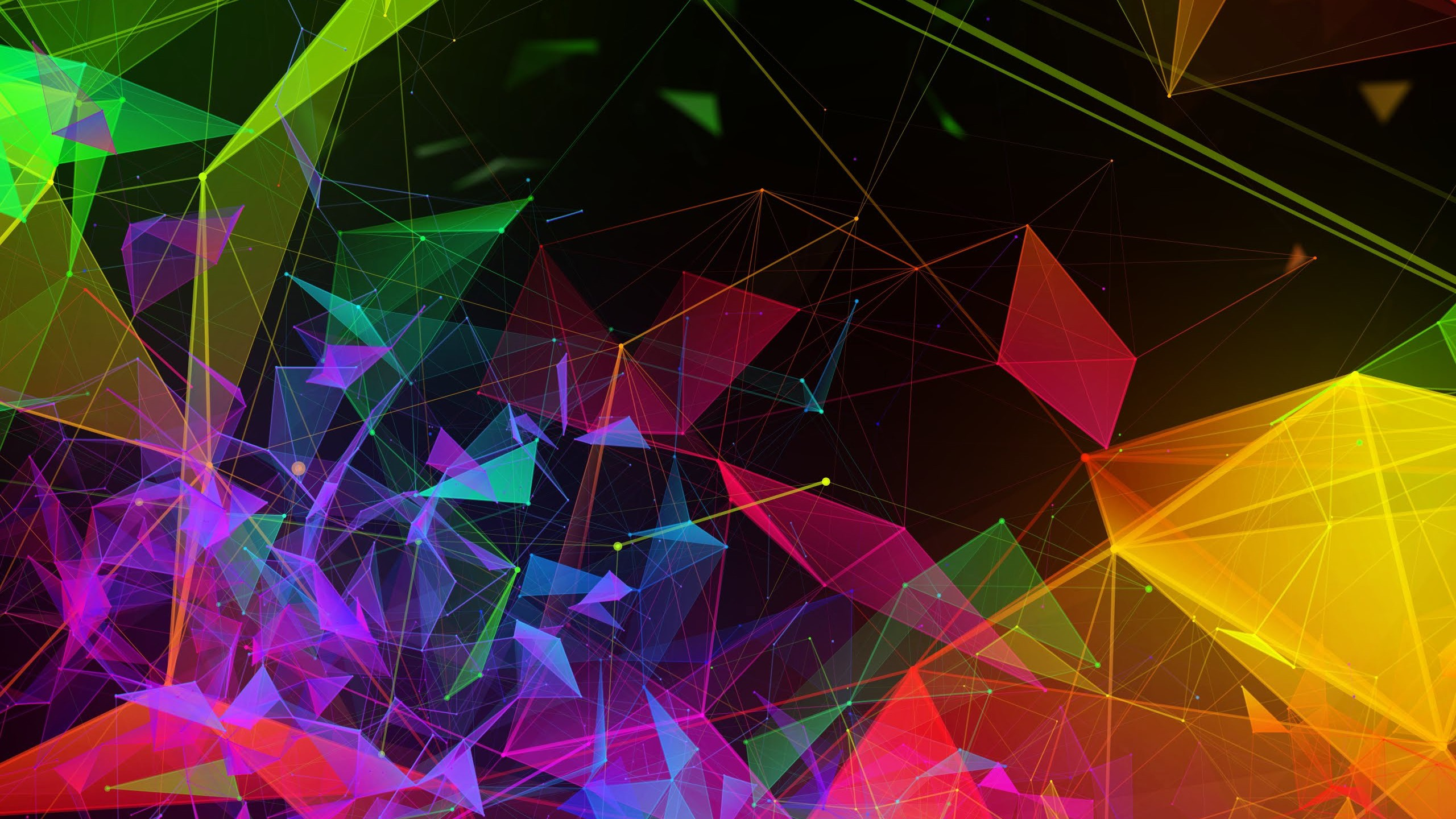 Wallpaper Razer Phone 2 abstract colorful HD OS 20755