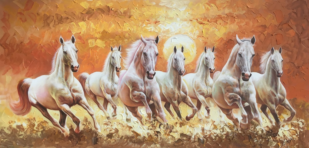 7 Horse Painting Posted By Samantha Peltier