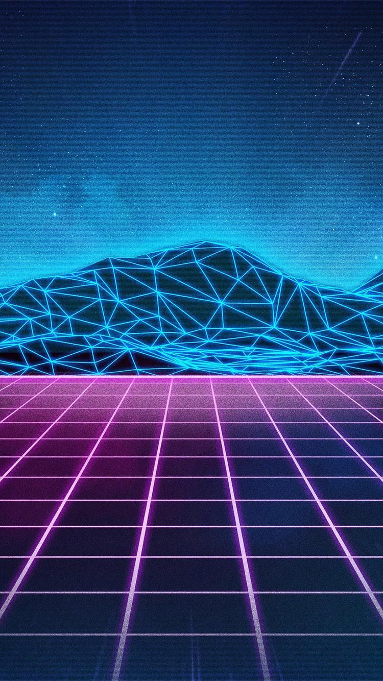Iphone X Backgrounds 80s Neon Wallpaper Iphone Hd