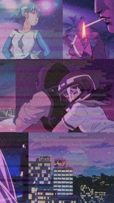 90s Anime Aesthetic Wallpaper Posted By Ryan Peltier