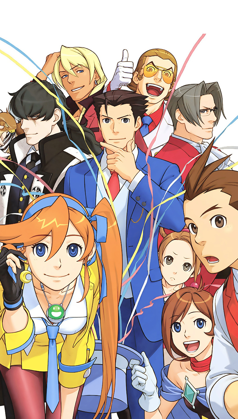 Ace Attorney Phone Wallpaper Posted By John Thompson