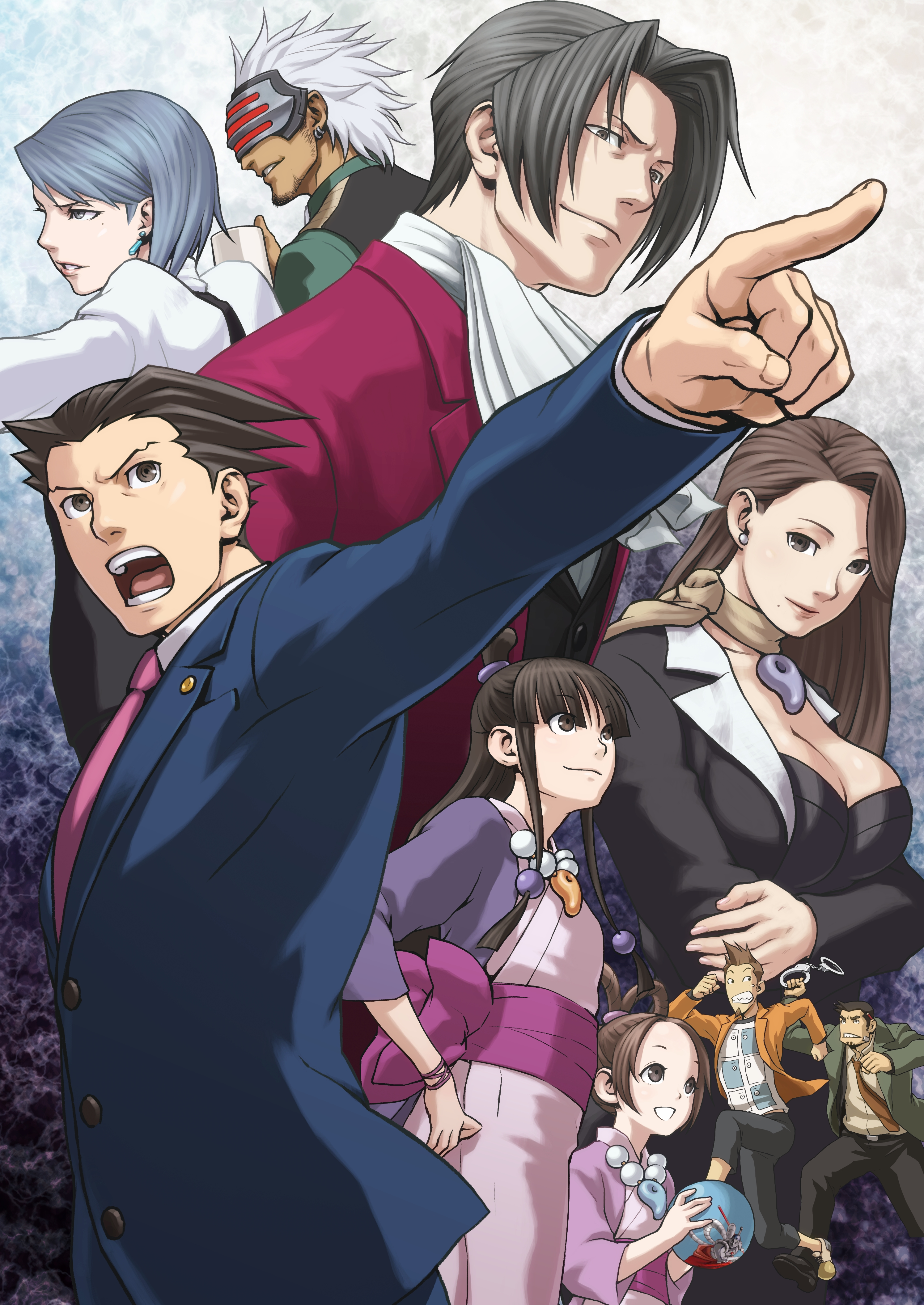 Ace Attorney Wallpaper Posted By Ethan Tremblay