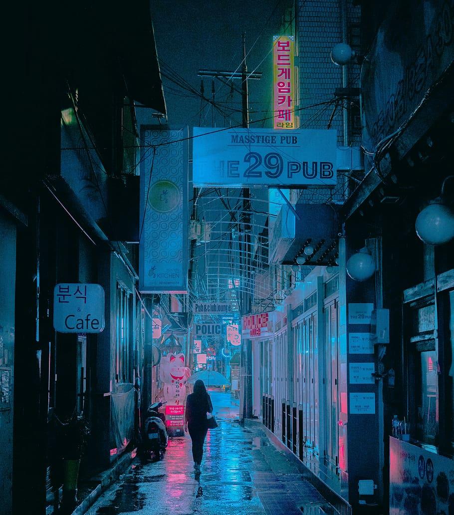 Get Cyberpunk 4K Vaporwave Wallpaper Pictures