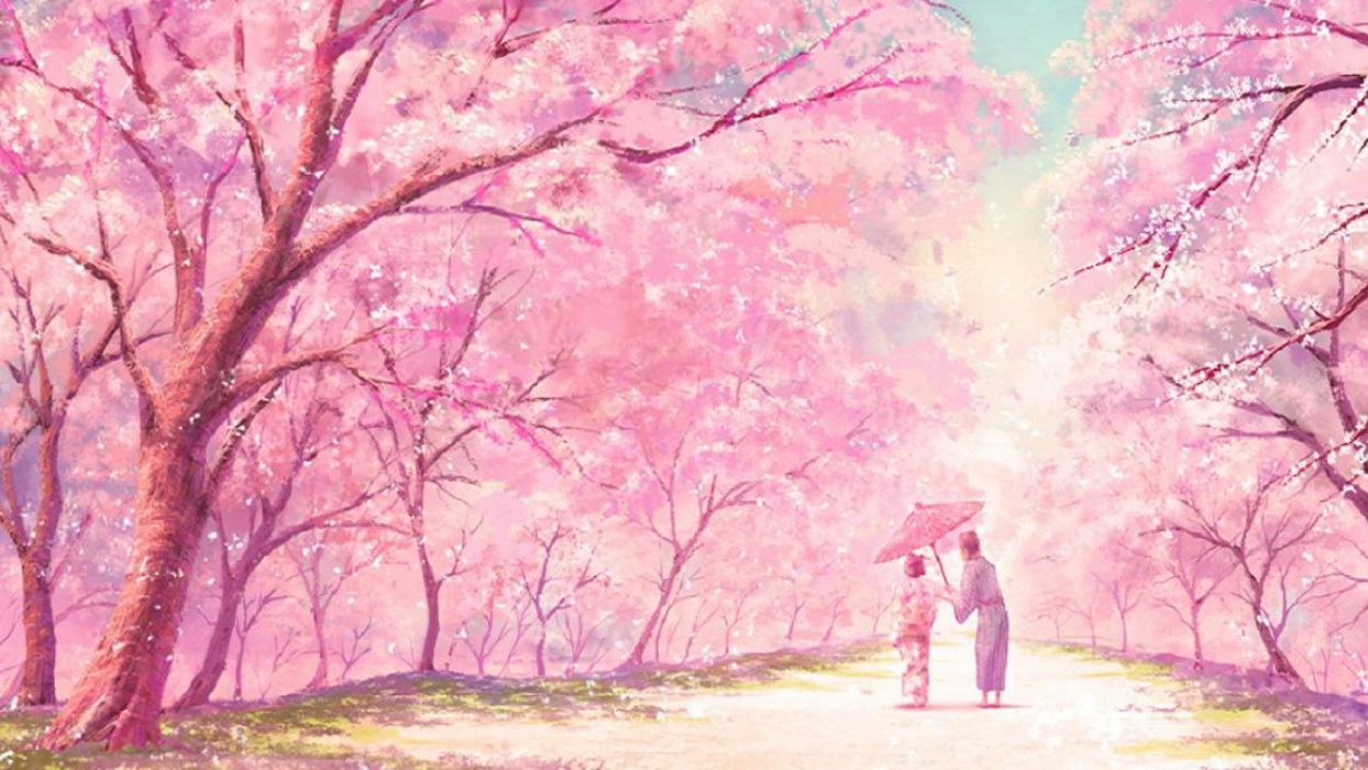 Aesthetic Anime Background Posted By John Simpson