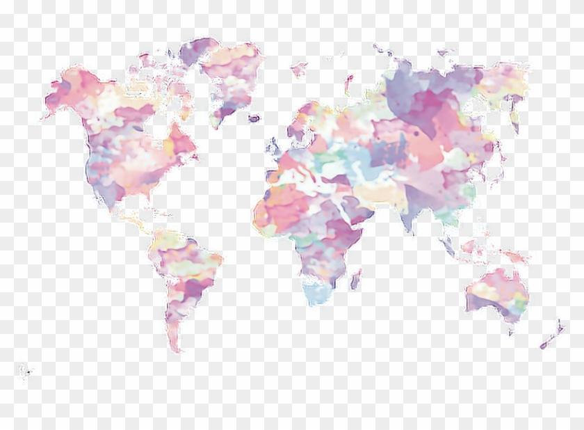 Freeuse Stock Transparent Map Pastel Grunge Aesthetic