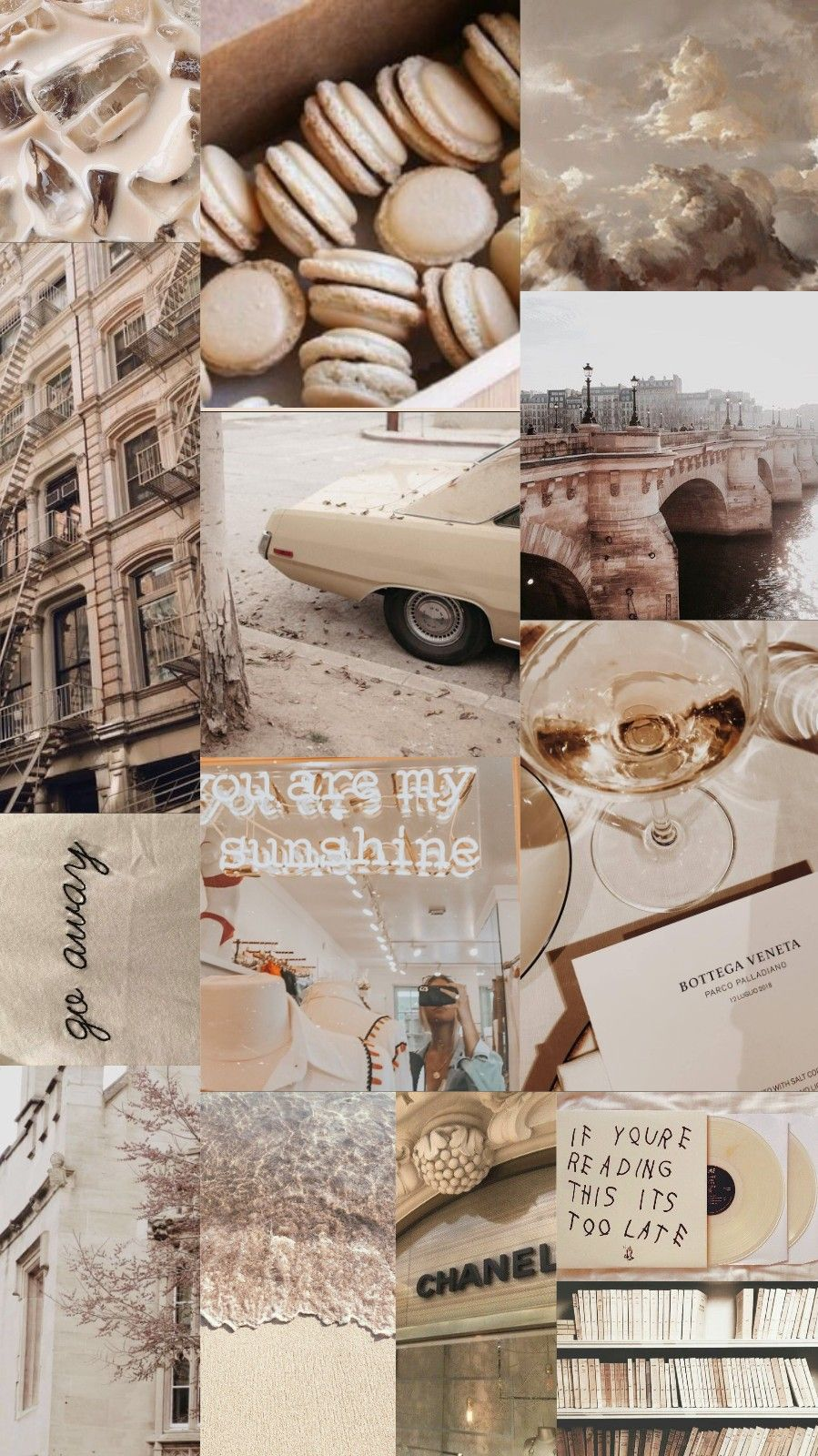 Aesthetic Collage Wallpaper Posted By John Mercado