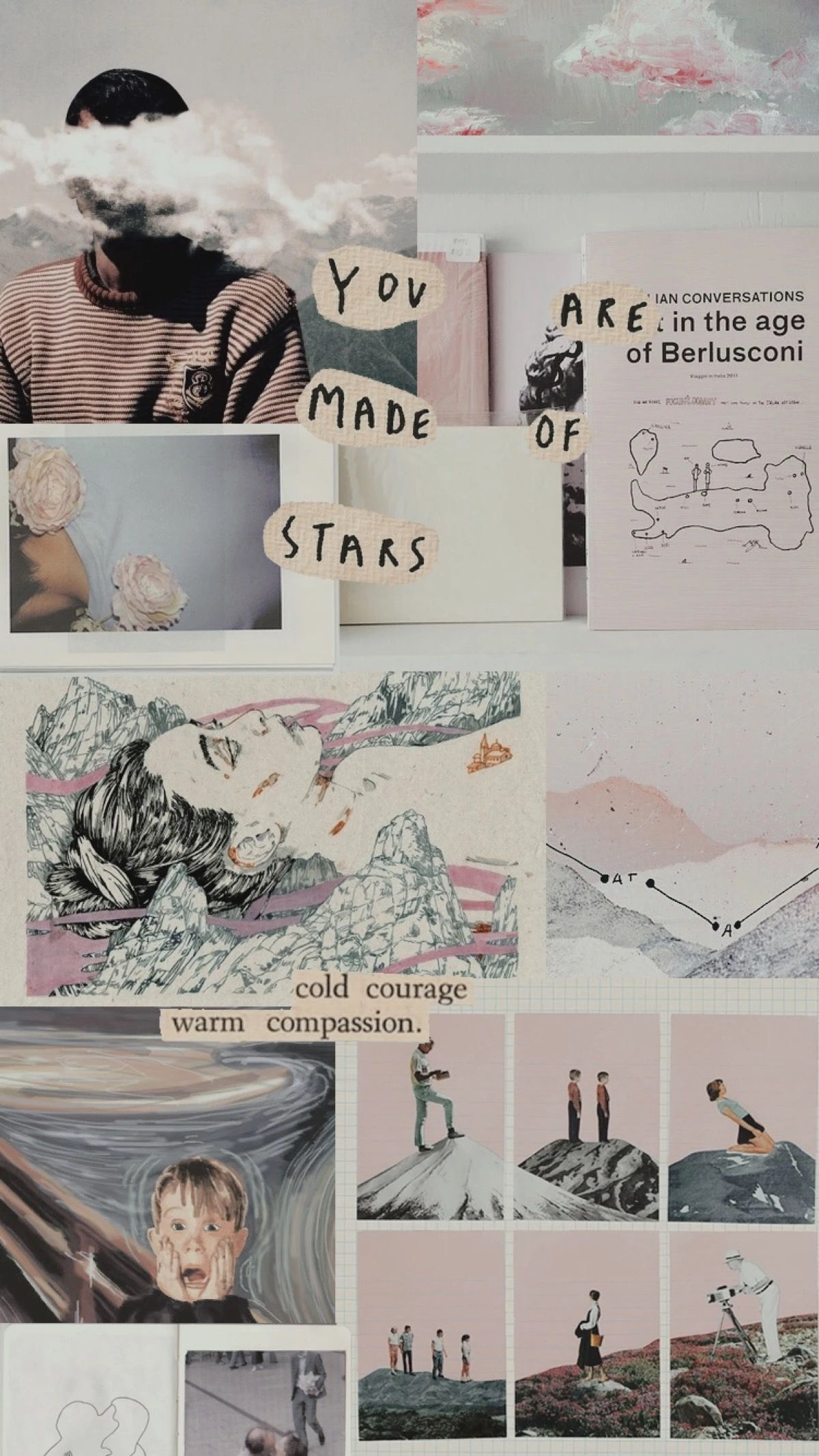Aesthetic Collage Wallpaper posted by ...