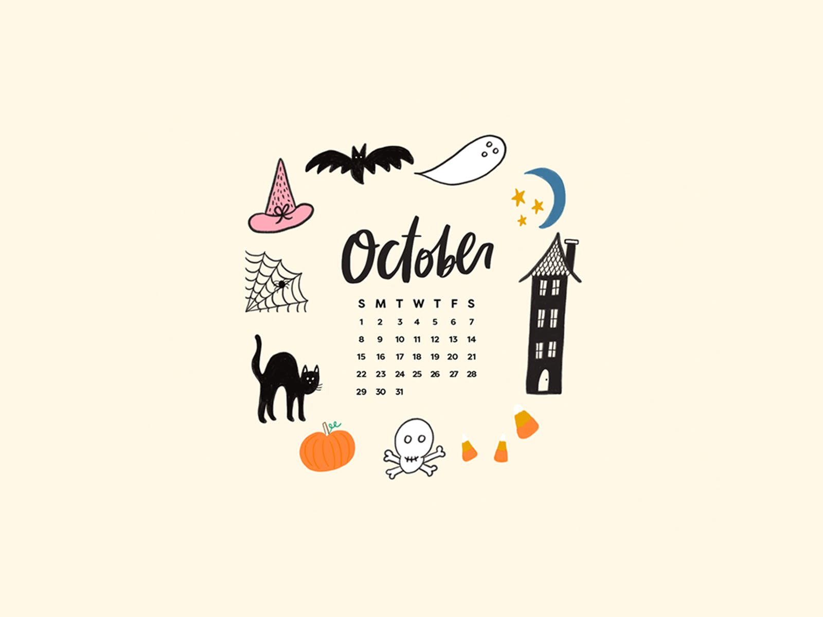Aesthetic Halloween Wallpapers Posted By Ryan Thompson