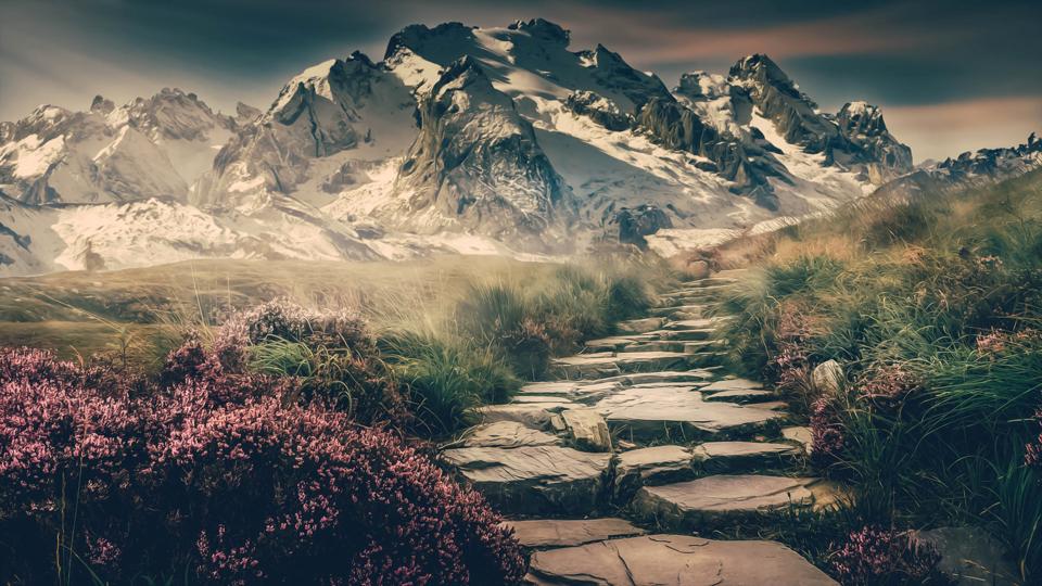 Aesthetic Scenery 03 HD Wallpaper KDE Store