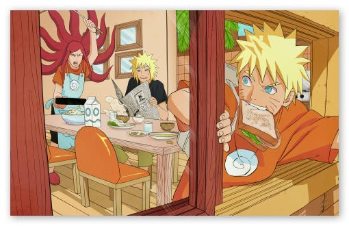Naruto The Uzumaki Family download high quality desktop