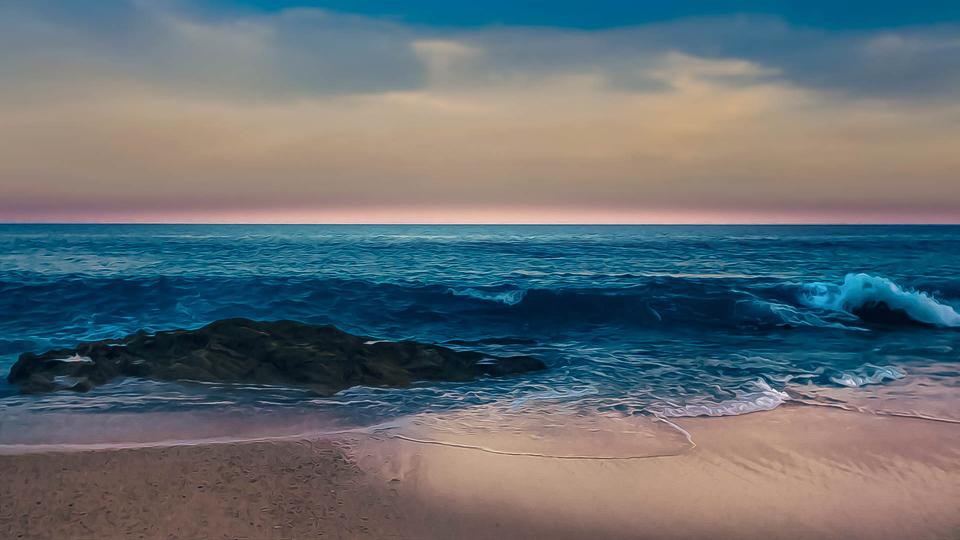 Aesthetic Ocean Wallpaper Posted By Zoey Peltier