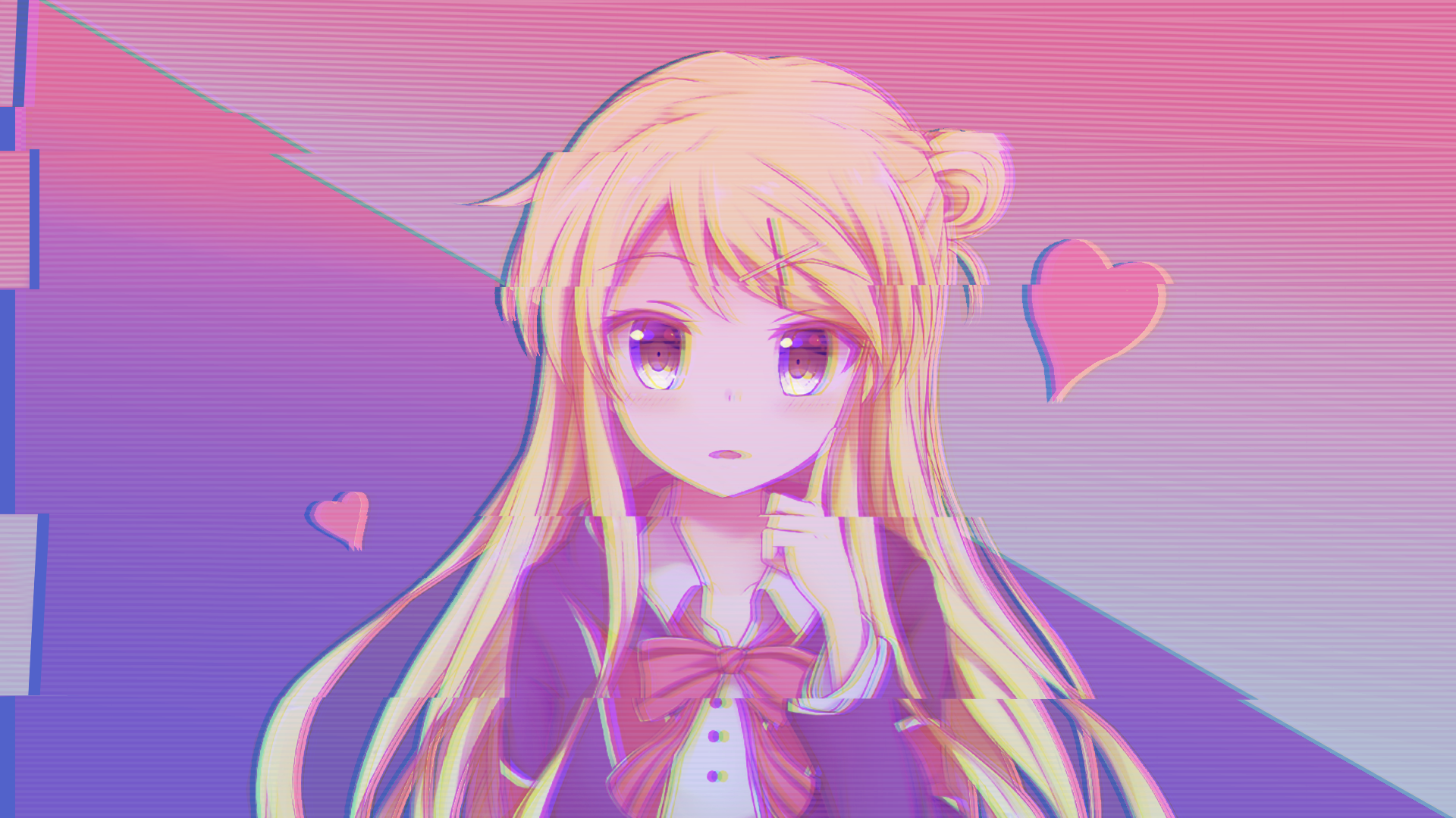 Aesthetic Pink Anime Wallpapers Posted By Zoey Simpson
