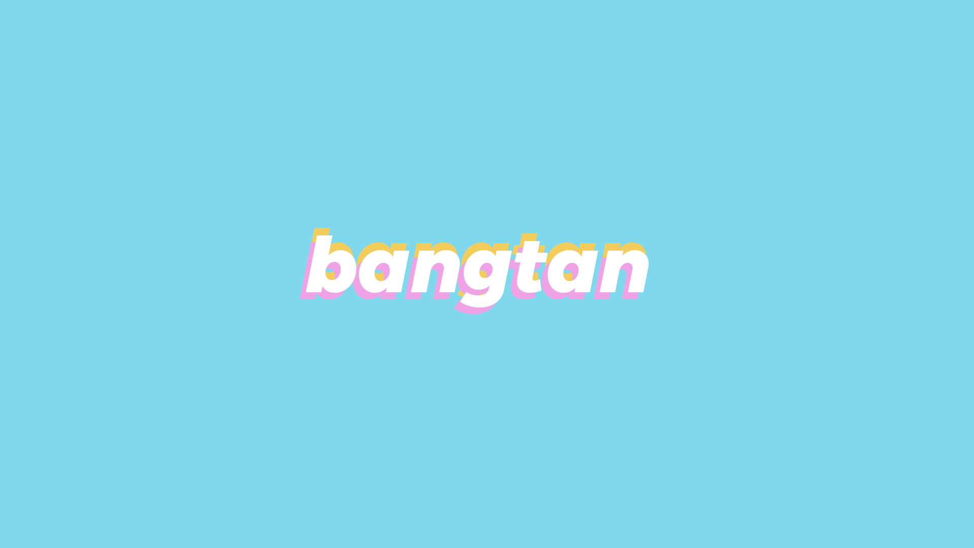 bts bangtan minimalist desktop wallpaper HD 1920 x 1080 bts