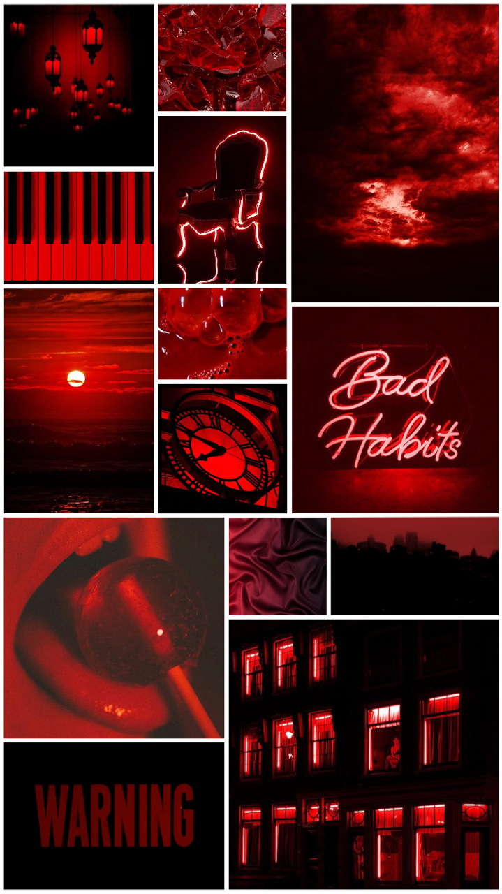 Aesthetic Wallpaper Red Posted By Zoey Walker