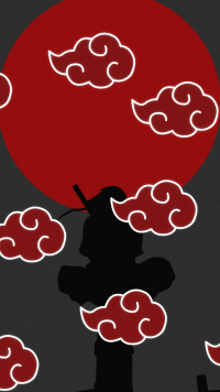 Akatsuki Iphone Wallpaper Posted By Michelle Cunningham