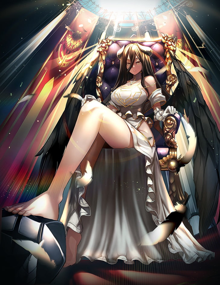 Albedo Overlord Wallpaper Posted By Samantha Sellers