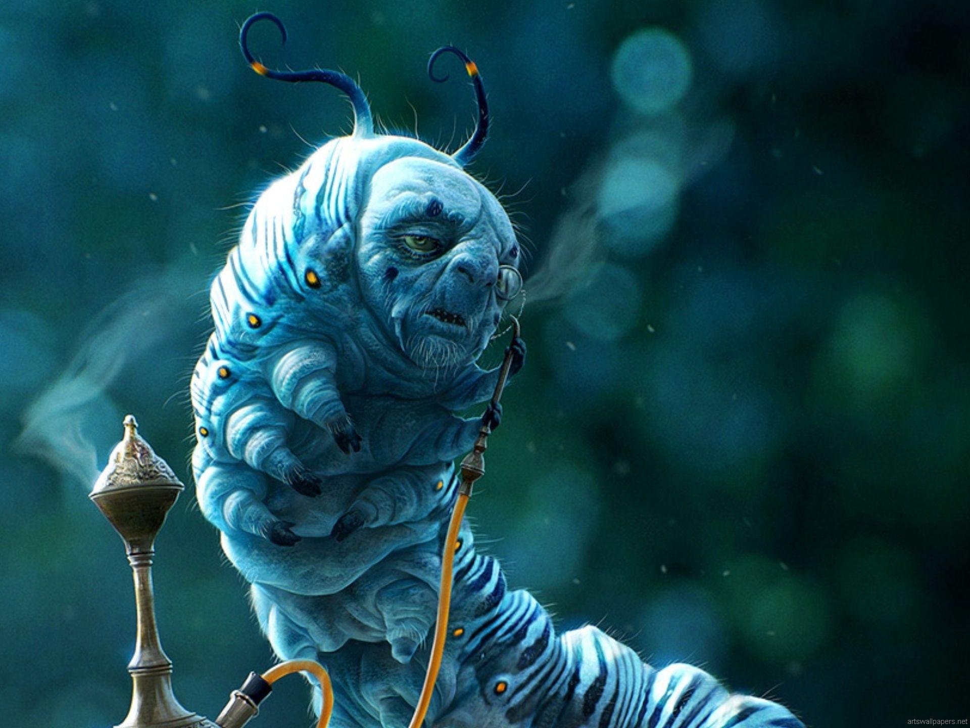 Alice In Wonderland Wallpaper Art posted by John Peltier