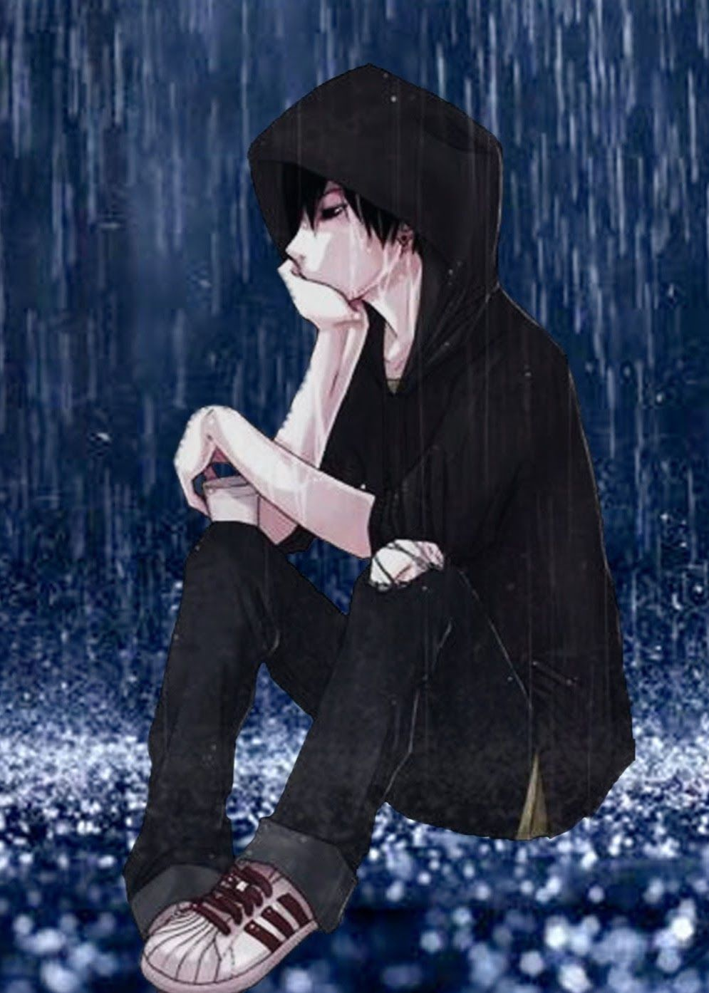 Anime Wallpaper Hd Alone Alone Boy Walking Away Sad Anime Wallpaper