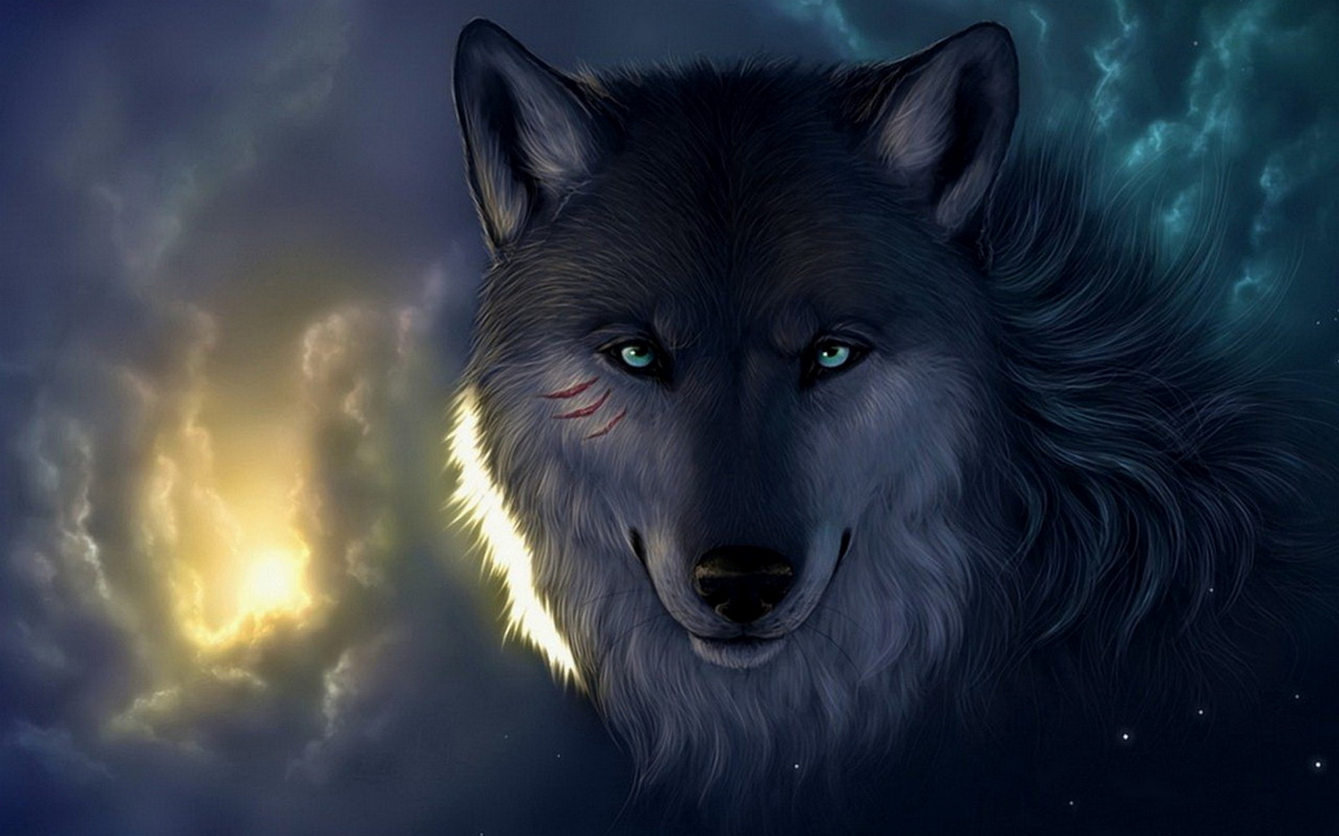 Alpha Wolf Wallpaper Posted By John Cunningham