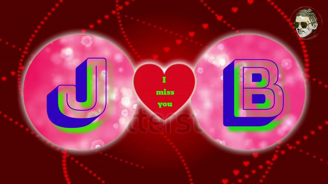 J Letter B Letter D Love N Name Free Wallpaper