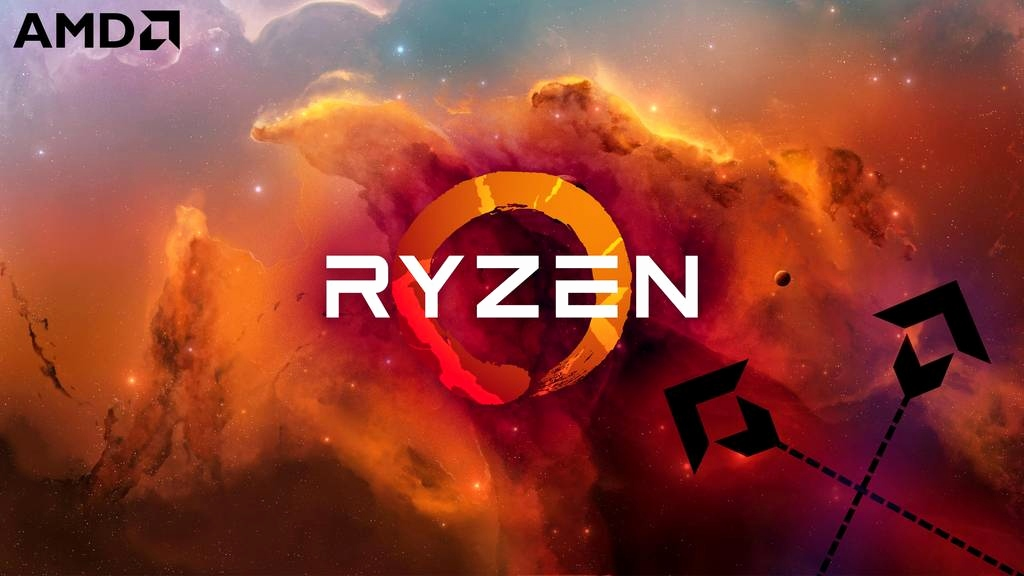 Amd Ryzen Wallpaper Posted By Christopher Sellers
