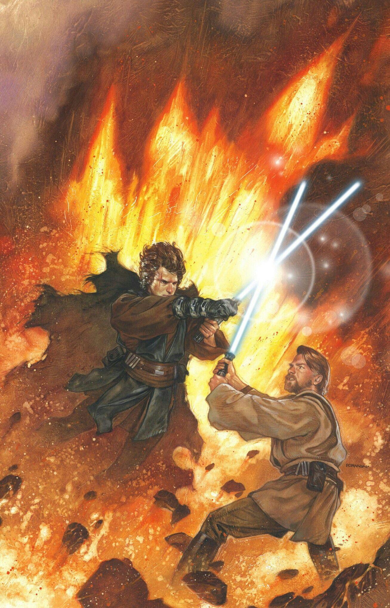 Anakin Vs Obi Wan 4k