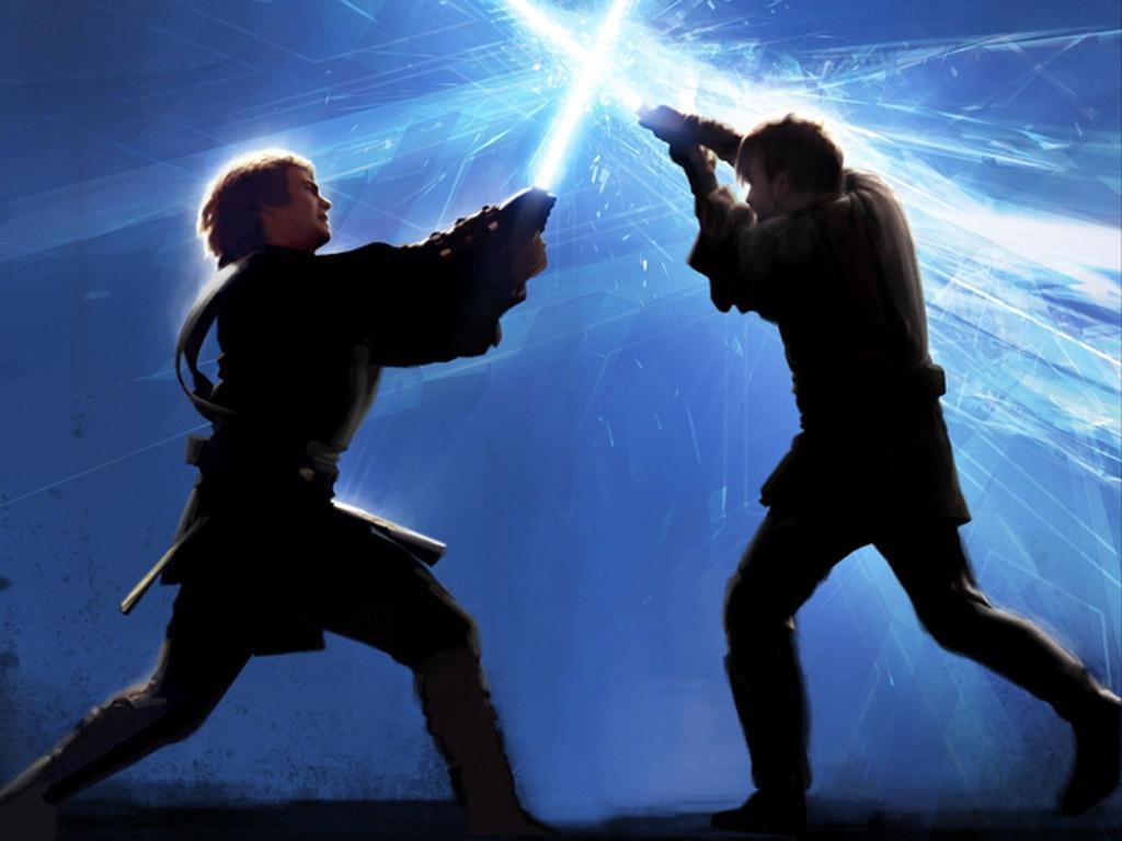Anakin Vs Obi Wan Wallpaper Posted By Ethan Cunningham