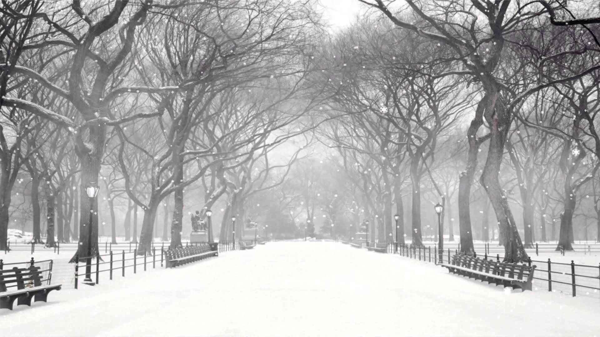 Animated Snow Falling Wallpaper posted ...