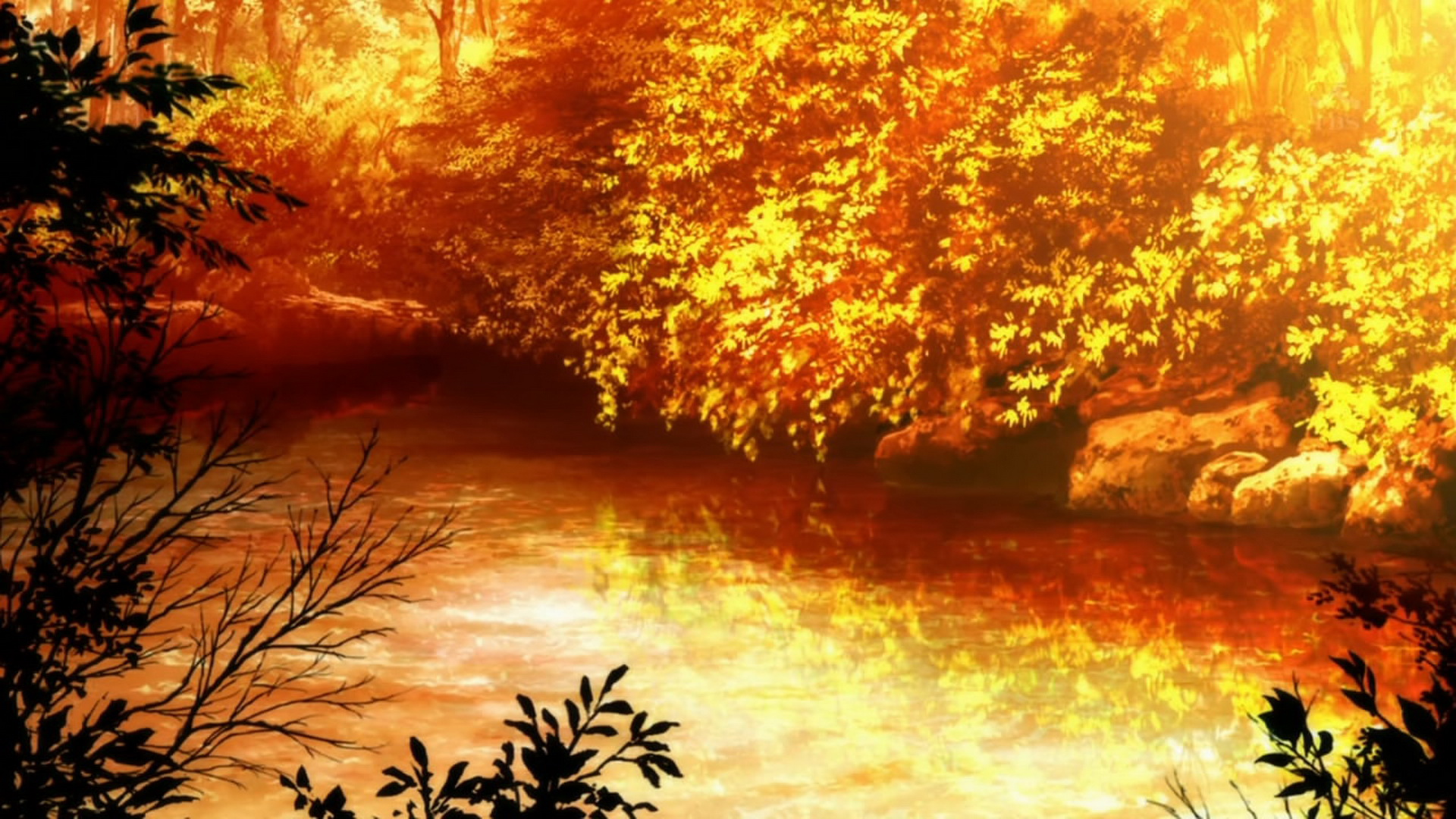 Anime Autumn Wallpaper Posted By Christopher Mercado