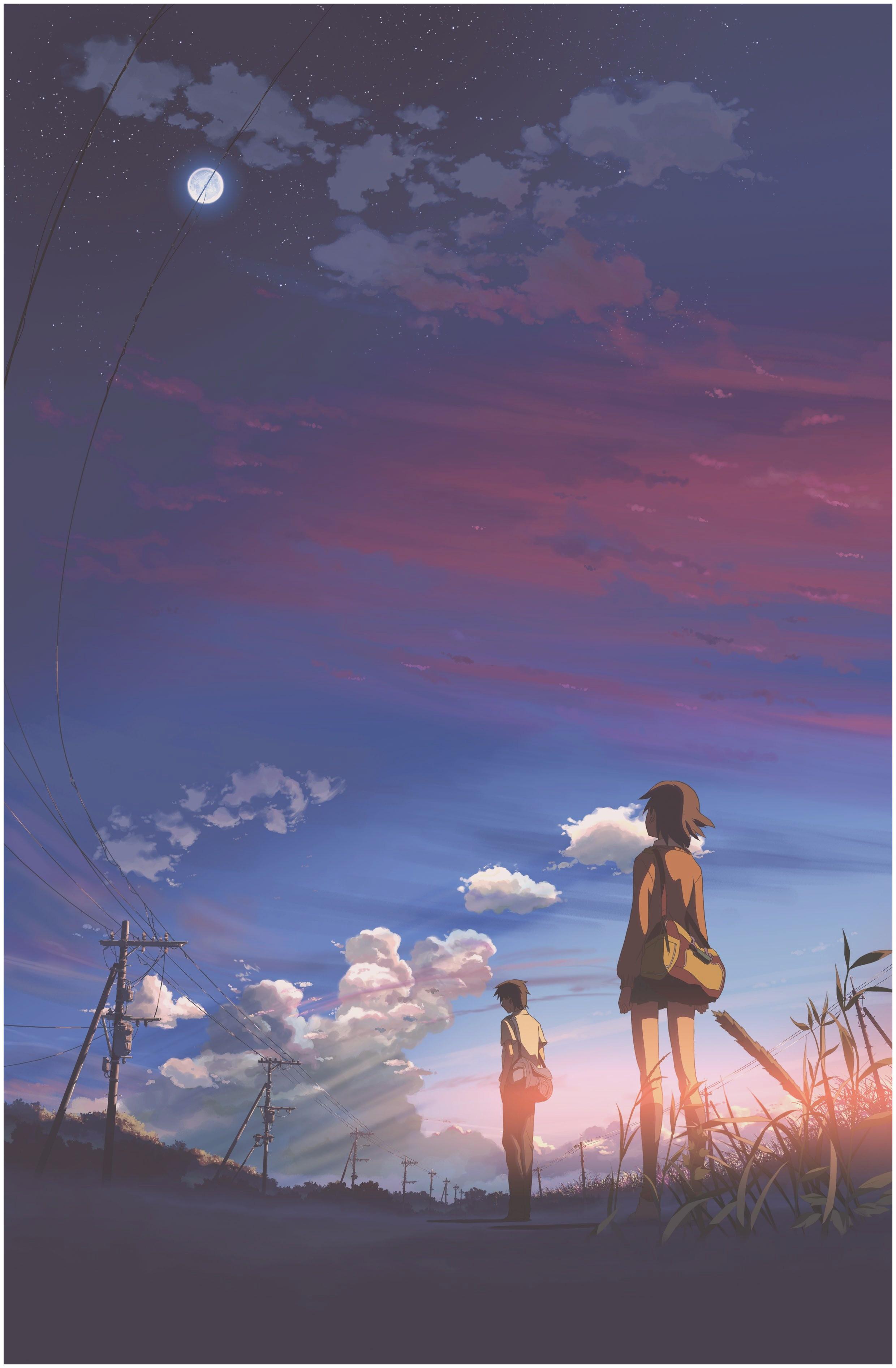 Anime Wallpaper Hd Anime Scenery Wallpaper For Phone