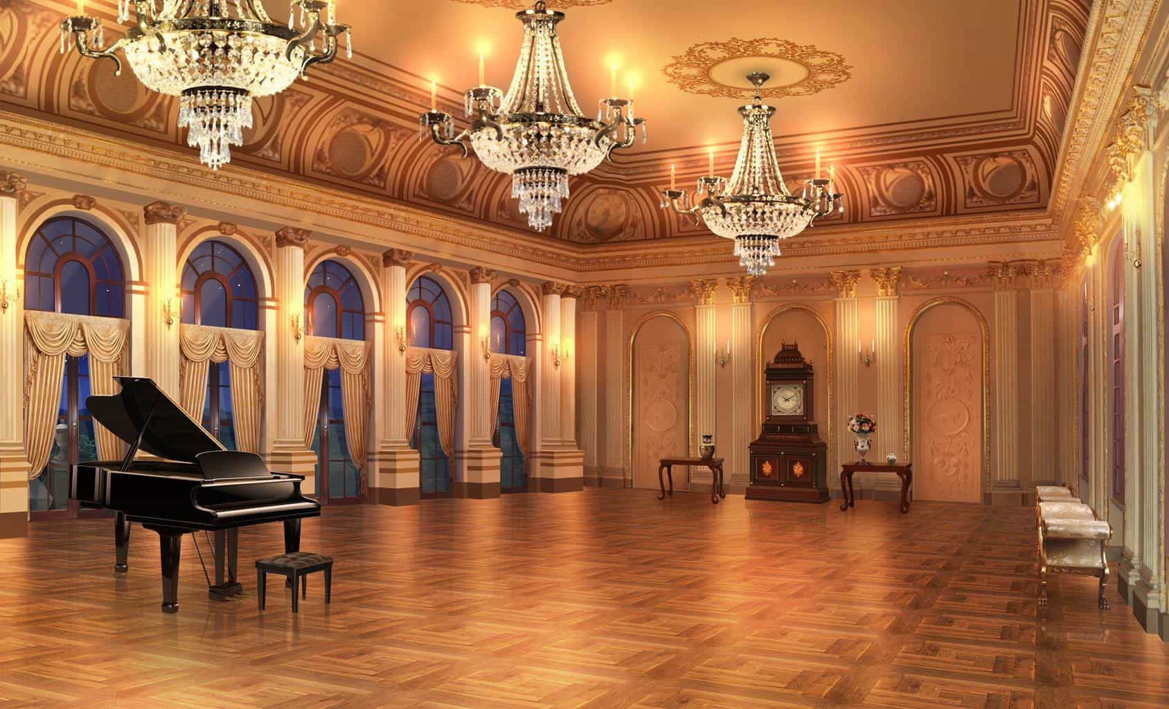 Anime Ballroom Background Posted By Michelle Thompson