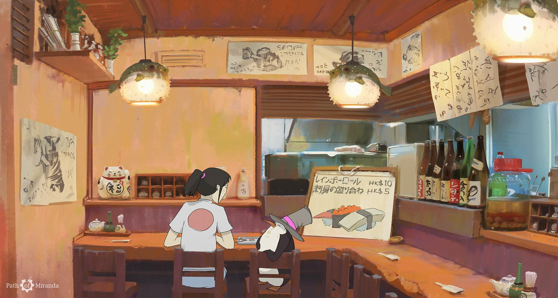 Anime Bar Wallpaper Posted By Sarah Tremblay
