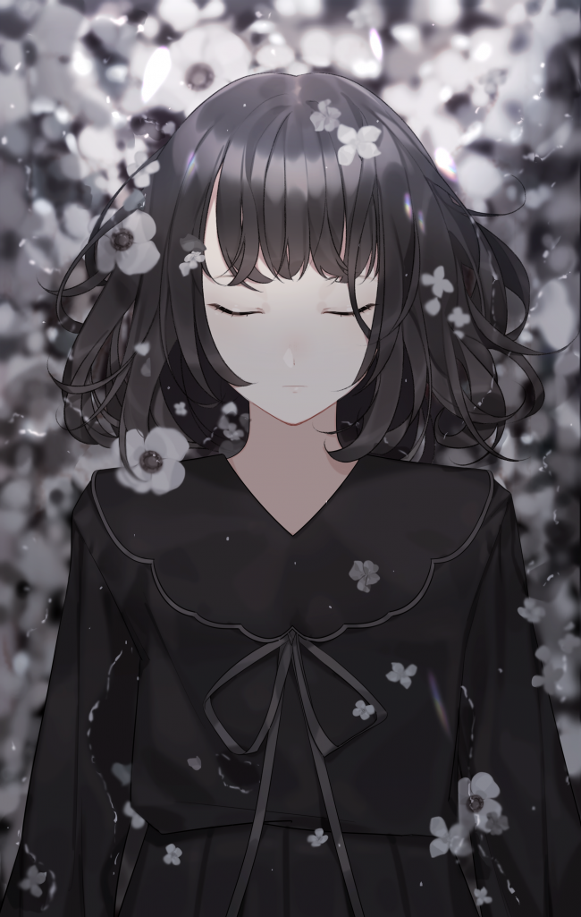 Anime Black Wallpaper Posted By Michelle Mercado