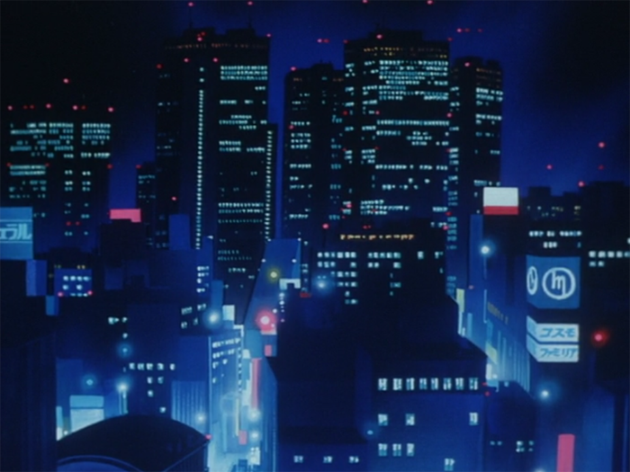 Anime City Night Background Posted By Samantha Anderson