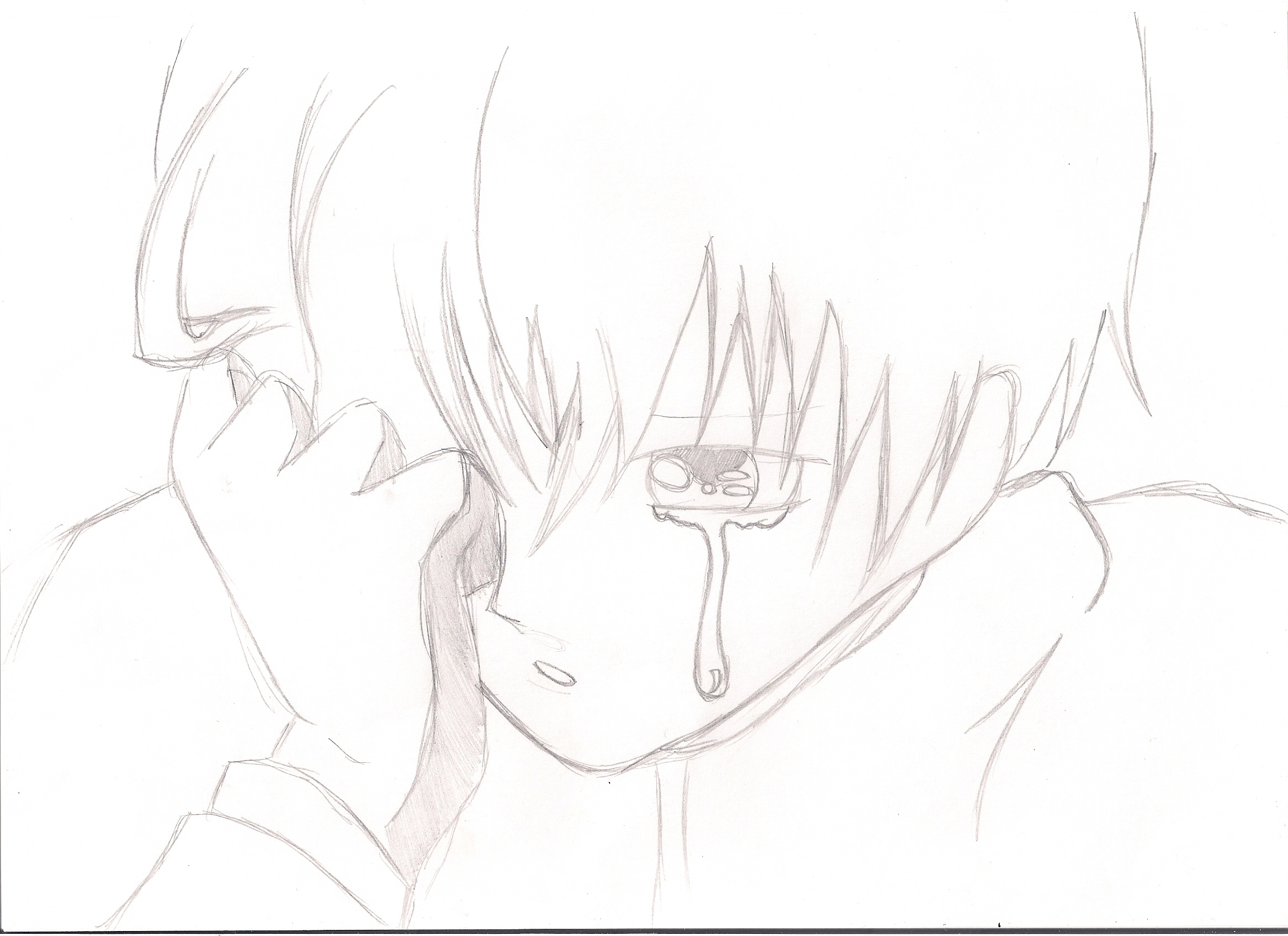 Anime Crying Boy Posted By Zoey Johnson